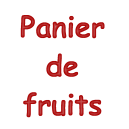 Panier de fruits traditionnel